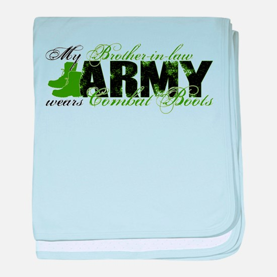 Bro Law Combat Boots - ARMY baby blanket