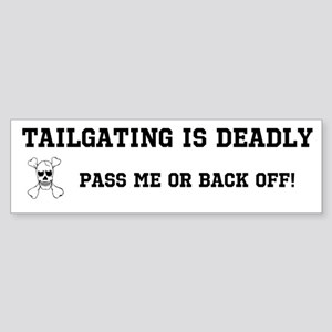 Tailgating Sticker (Bumper)