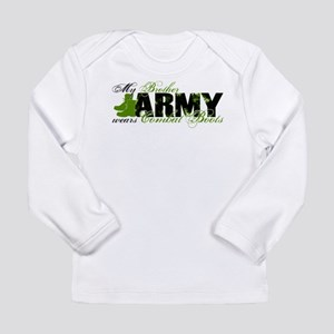 Bro Combat Boots - ARMY Long Sleeve Infant T-Shirt