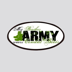 Bro Combat Boots - ARMY Patches