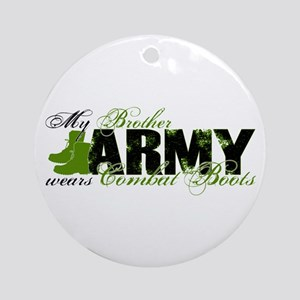 Bro Combat Boots - ARMY Ornament (Round)