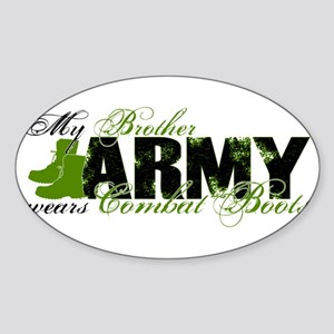Bro Combat Boots - ARMY Sticker (Oval)
