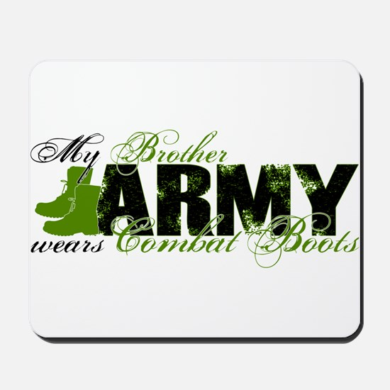 Bro Combat Boots - ARMY Mousepad
