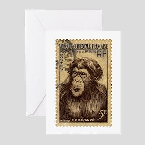 Chimpanzee Greeting Cards (Pk of 10)