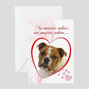 "Bulldog ""Just Whistle"" Valentine"