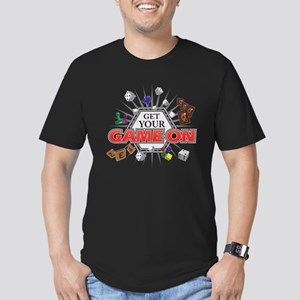 Get Your Game On Men's Fitted T-Shirt (dark)