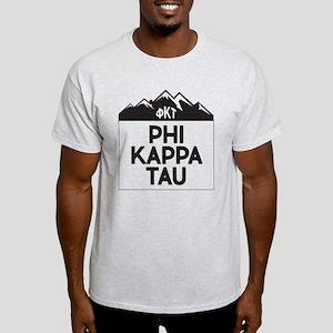 Phi Kappa Tau Fraternity Greek Moun Light T-Shirt