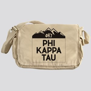 Phi Kappa Tau Fraternity Greek Moun Messenger Bag