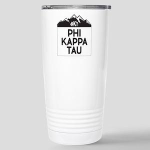 Phi Kappa Tau Fr 16 oz Stainless Steel Travel Mug