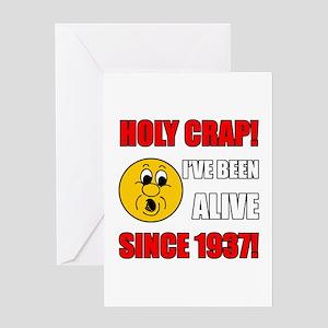 Hilarious 1937 Gag Gift Greeting Card