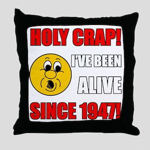 Hilarious 1947 Gag Gift Throw Pillow