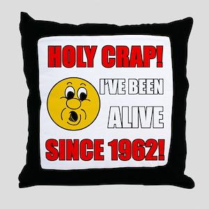 Hilarious 1962 Gag Gift Throw Pillow