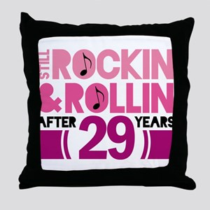 29th Anniversary Funny Gift Throw Pillow