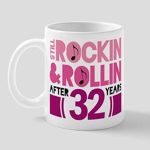 32nd Anniversary Funny Gift Mug