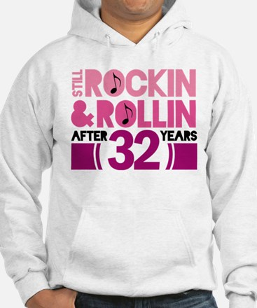 32nd Anniversary Funny Gift Hoodie