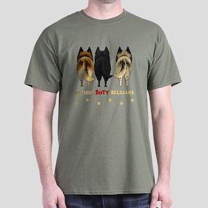 Nothin' Butt Belgians Dark T-Shirt