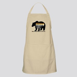 Bear Pride comes in all sizes Apron