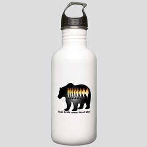 Bear Pride comes in all sizes Stainless Water Bott