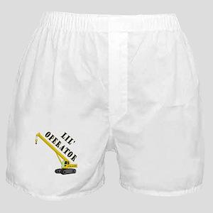 Lil' Crane Operator Boxer Shorts