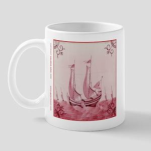 Pink Ship Tile: Mug