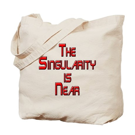 The Singularity is Near Tote Bag