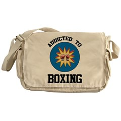 Addicted To Boxing Messenger Bag