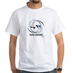 Turbo Charged White T-Shirt