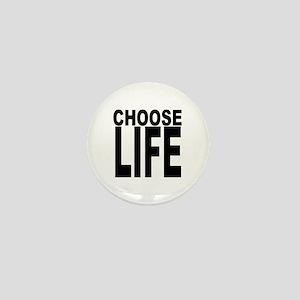 Choose Life Mini Button