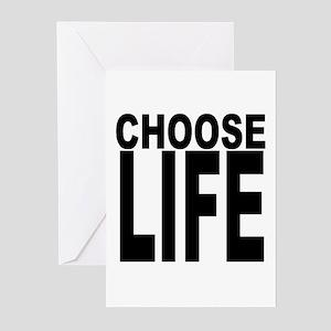 Choose Life Greeting Cards (Pk of 10)