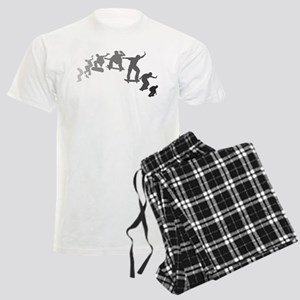 Skateboarding Men's Light Pajamas