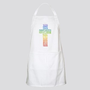 Names of Jesus Cross Apron
