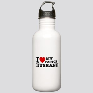 I love my Pastor Husband Stainless Water Bottle 1.
