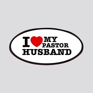 I love my Pastor Husband Patches