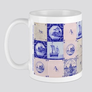 Assorted Tiles: Mug (blue/white)