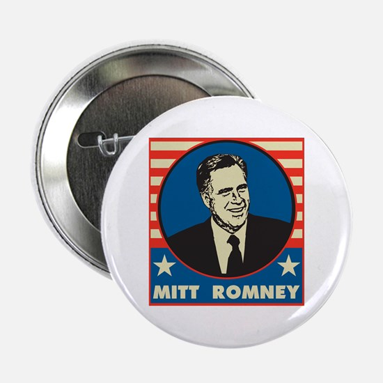 "Retro Mitt Romney 2.25"" Button"
