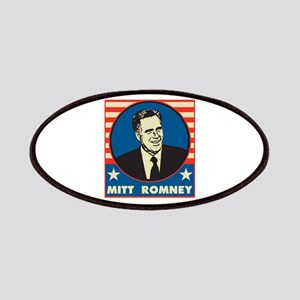 Retro Mitt Romney Patches