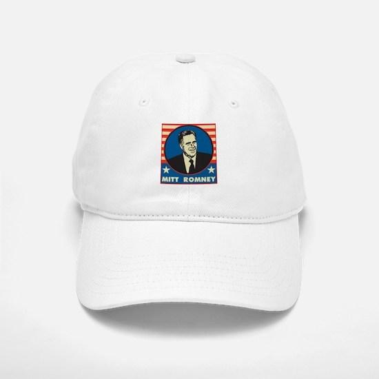 Retro Mitt Romney Baseball Baseball Cap
