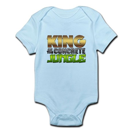 King Of The Concrete Jungle Infant Bodysuit