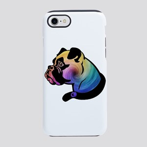 Rainbow Swirl Boxer iPhone 7 Tough Case