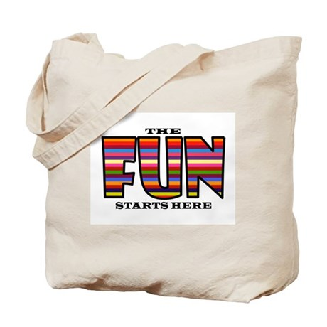 FUN AHEAD Tote Bag