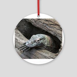Komodo Dragon Ornament (Round)