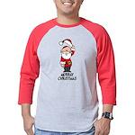 Murray Christmas Mens Baseball Tee