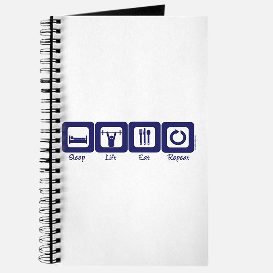 Sleep- Lift- Eat- Repeat Journal