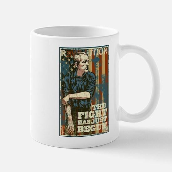 The Fight Has Just Begun Mug