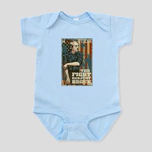 The Fight Has Just Begun Infant Bodysuit