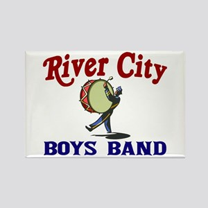 River City Boys Band Rectangle Magnet