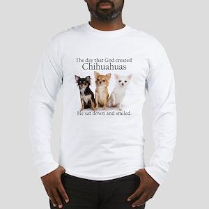 God & Chihuahuas Long Sleeve T-Shirt