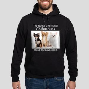 God & Chihuahuas Hoodie (dark)