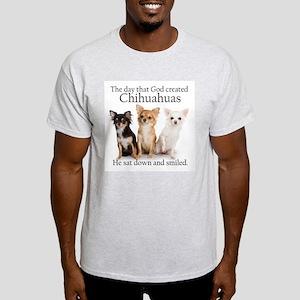 God & Chihuahuas Light T-Shirt