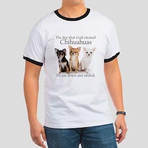God & Chihuahuas Ringer T